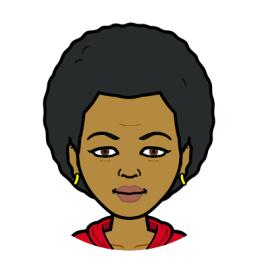 Bitmoji headshot of Cathy Maxfield Coleman