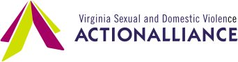 Transparent image of the Virginia Sexual and Domestic Violence Action Alliance's logo.