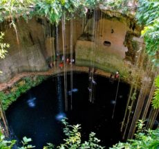Photo of cenotes in Mexico.