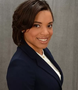 Head shot of Fatima Smith, a Virginia-based advocate against sexual and domestic violence.