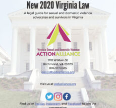 Image of New 2020 Virginia Law cover page